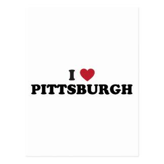 I Love Pittsburgh Pennsylvania Postcard