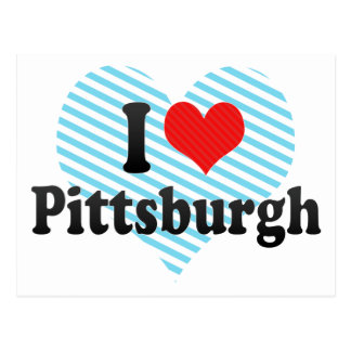 I Love Pittsburgh Postcard