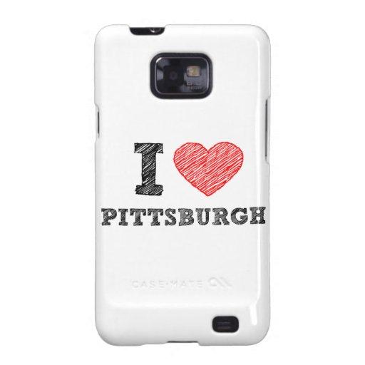 I-Love-Pittsburgh Samsung Galaxy SII Covers