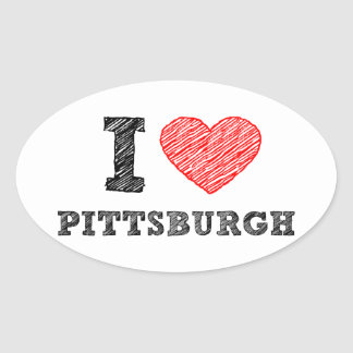 I-Love-Pittsburgh Stickers