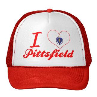 I Love Pittsfield, Massachusetts Trucker Hat