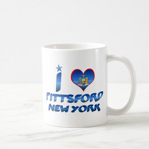 I love Pittsford, New York Classic White Coffee Mug