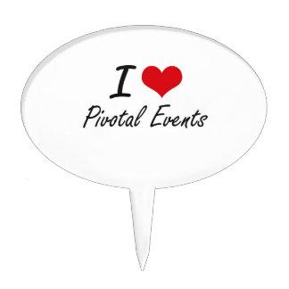 I Love Pivotal Events Cake Pick