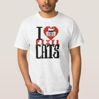 I Love Pixel Cats T-Shirt