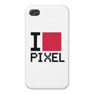 I love Pixel iPhone 4 Case