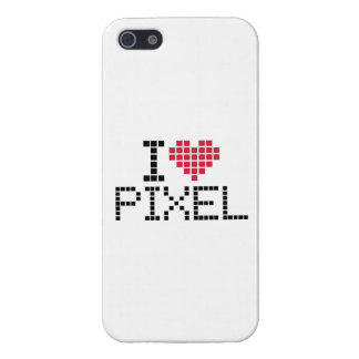 I love pixel iPhone 5/5S covers