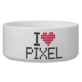 I love pixel pet food bowls