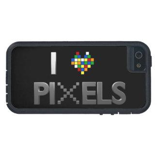 I Love Pixels iPhone 5 Cases