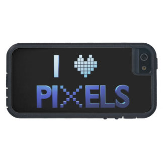 I Love Pixels Case For iPhone 5