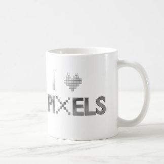 I Love Pixels Coffee Mug