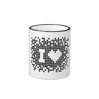 I love Pixels Graphic Designer's T-Shirt Coffee Mugs