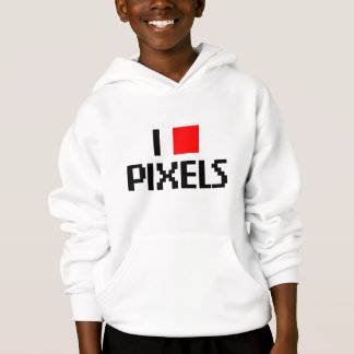 I Love Pixels Hoodie