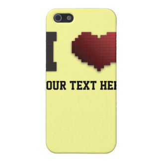 I Love Pixels?!? iPhone 5 Cover