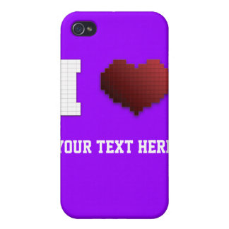 I Love Pixels?!? iPhone 4/4S Covers