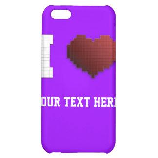 I Love Pixels?!? Case For iPhone 5C