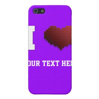 I Love Pixels?!? iPhone 5 Covers