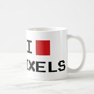 I Love Pixels Coffee Mugs