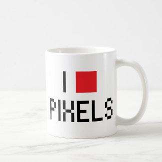 I LOVE PIXELS MUGS