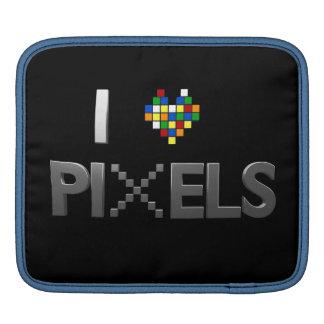 I Love Pixels Sleeve For iPads