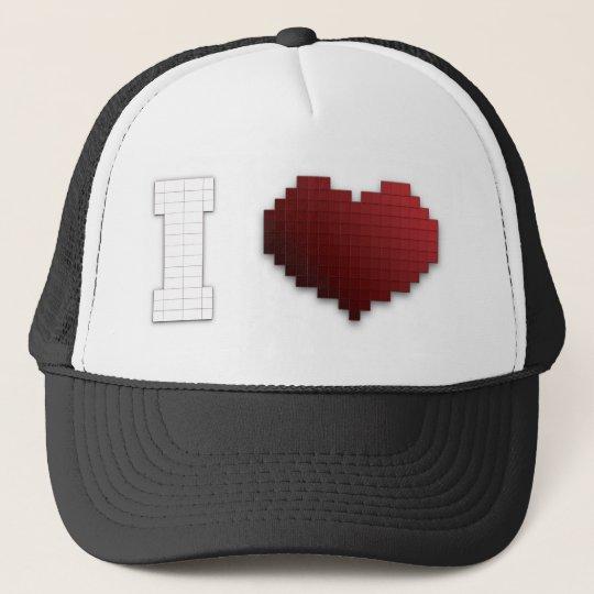 I Love Pixels?!? Trucker Hat