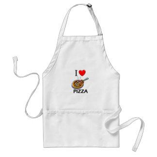I Love Pizza Adult Apron