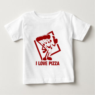 I Love Pizza Baby T-Shirt