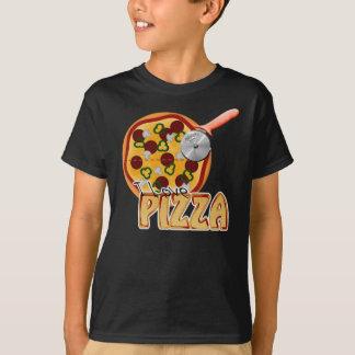 I Love Pizza - Basic Dark T-Shirt