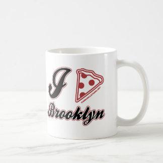 I Love Pizza Brooklyn Classic White Coffee Mug