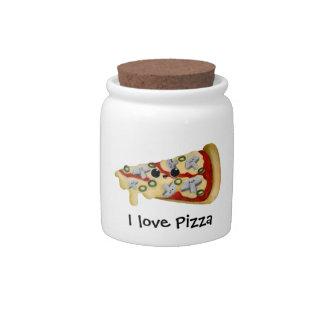 I love Pizza Candy Jar