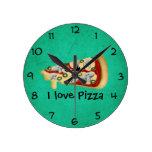 I love Pizza Clock