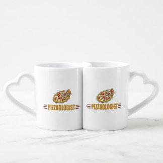 I Love Pizza Coffee Mug Set