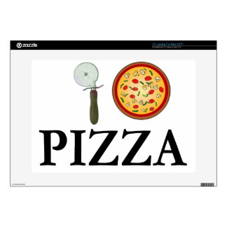 I Love Pizza Decal For Laptop