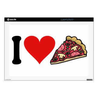 I Love Pizza * Decal For Laptop