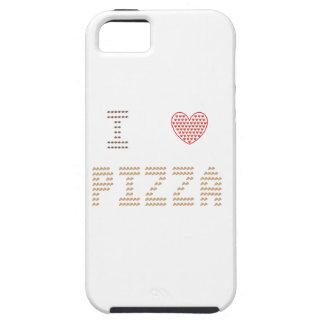 I Love Pizza - iPhone 5 / 5S Cover - Emoji Art