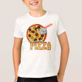 I Love Pizza -  Kids American Apparel T-Shirt
