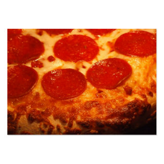 I love Pizza Large Business Cards (Pack Of 100)