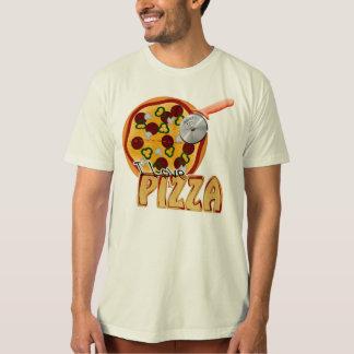I Love Pizza - Organic T-Shirt