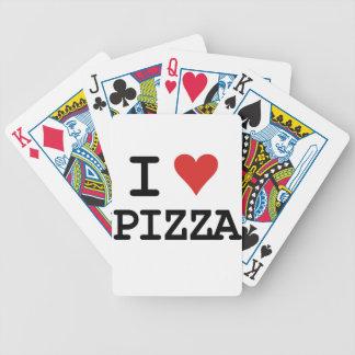 I love Pizza Poker Deck