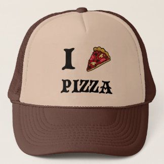 I Love Pizza Retro Hat