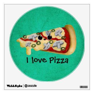 I love Pizza Room Graphic
