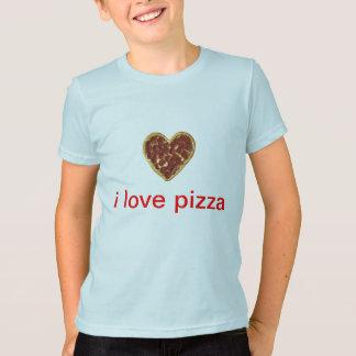 """I LOVE PIZZA SHIRT, WITH HEART SHAPED PIZZA T-Shirt"