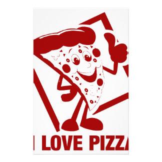I Love Pizza Stationery