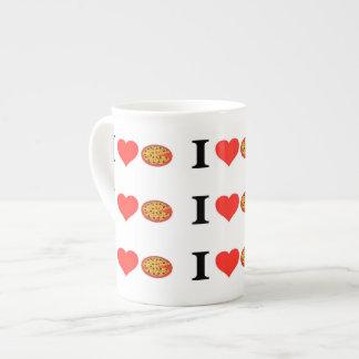 I Love Pizza Tea Cup