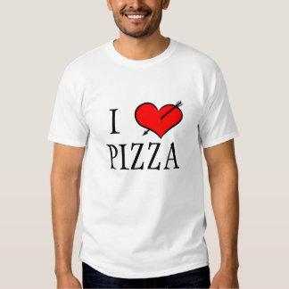 I Love Pizza Tee Shirt