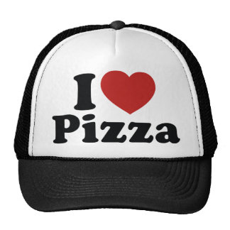 I Love Pizza Trucker Hat