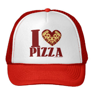 I Love Pizza Trucker Hat