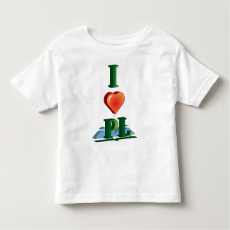 I Love Placentia Library Girl's T-Shirt
