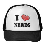 I Love (Plaid Heart) Nerds Trucker Hat