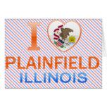 I Love Plainfield, IL Cards