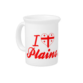I Love Plains, Georgia Drink Pitchers